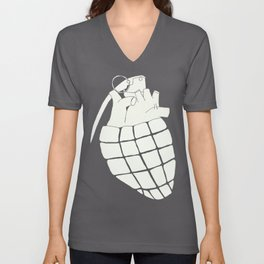 Heart Grenade Unisex V-Neck