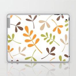 Assorted Leaf Silhouettes Retro Colors Laptop & iPad Skin
