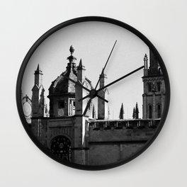 Oxford University Fellows Quad Wall Clock