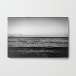 Unforgiving Sea Metal Print