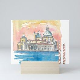 Venice Italy Santa Maria della Salute Mini Art Print