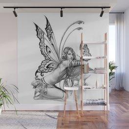 toadstool fairy Wall Mural