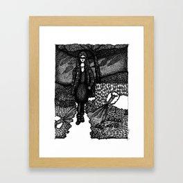 my so-called life Framed Art Print