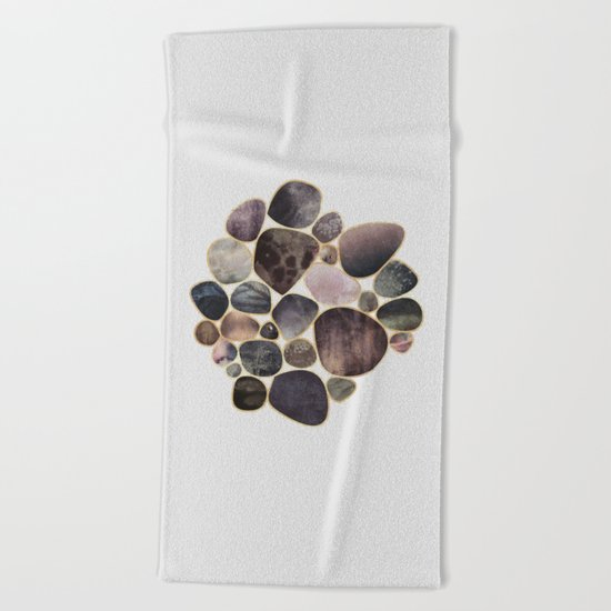 Rock Collection 1 Beach Towel