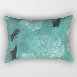 Flower Burst 3 Rectangular Pillow