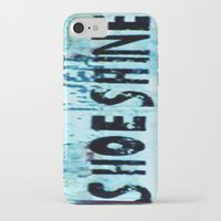 shoe iPhone & iPod Cases featuring Shoe Shine  by mcmerriweather