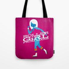 Roller Girl From Mars Tote Bag