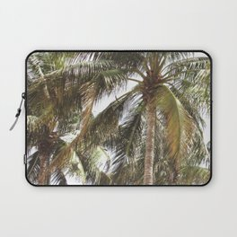 Miami Palm Trees   Landscape Photography   Coastal   Nature   Ocean   Summer   Travel Laptop Sleeve