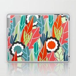 Floral jungle Laptop & iPad Skin