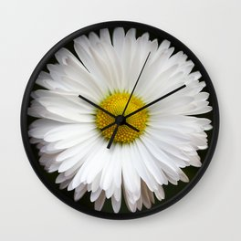 Flower of my Eye- Photo of a daisy Wall Clock