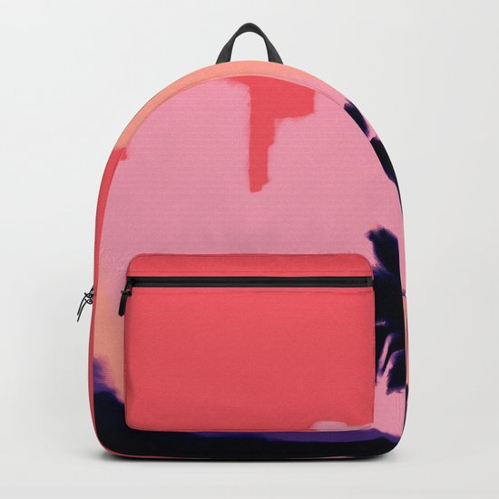 Sunset Time in Miami Backpack