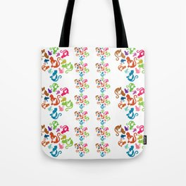 Cat Artwork Tote Bag