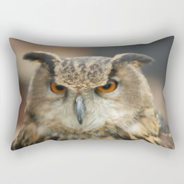 Art owl Rectangular Pillow