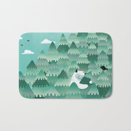 Tree Hugger (Spring & Summer version) Bath Mat