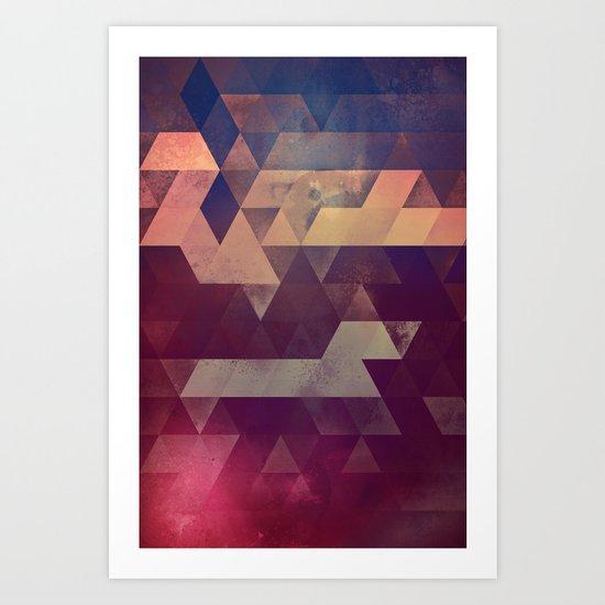 byyk hymm Art Print