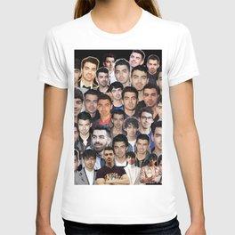 Joe Jonas collage T-shirt