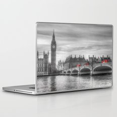 Westminster Bridge and Big Ben Laptop & iPad Skin