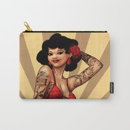 The Tattooed Woman Carry-All Pouch