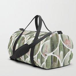 Circular Cacti Duffle Bag