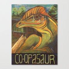 Co-opasaur Canvas Print