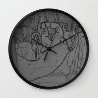 general Wall Clocks featuring General by john jewell