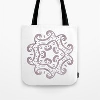 decorative Tote Bags featuring Decorative by Meredith Washburn