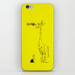 High Giraffe iPhone Skin