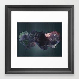blau Framed Art Print