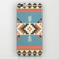 aztec iPhone & iPod Skins featuring AZTEC by 6ense
