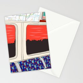 View from London Train Line Stationery Cards