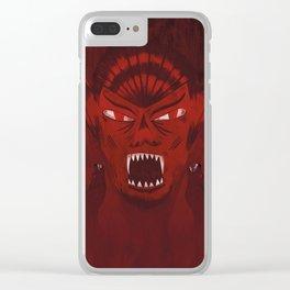 Dracula Clear iPhone Case