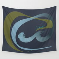 rush Wall Tapestries featuring Rush  by Sammy Cee