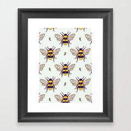 honey guards Framed Art Print