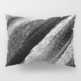 Wood in Black Pillow Sham