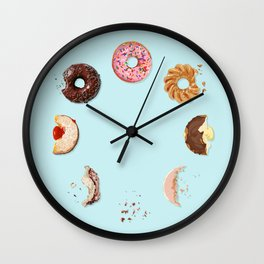 Donut Phases Wall Clock