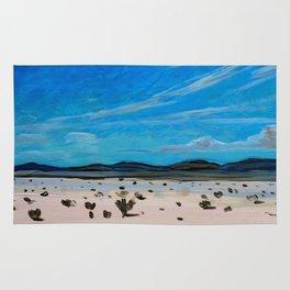 Coahuila Desert Painting Rug