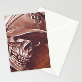 skull and cap Stationery Cards