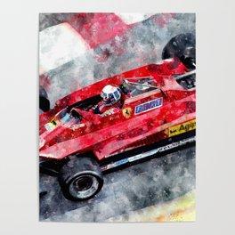 Didier Pironi Poster