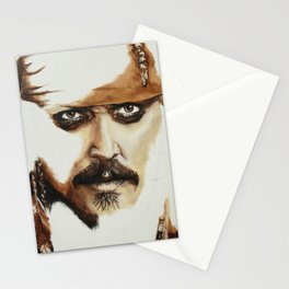Captain Jack Sparrow Stationery Cards