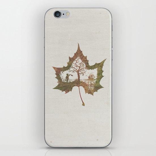 A Fall Story iPhone & iPod Skin