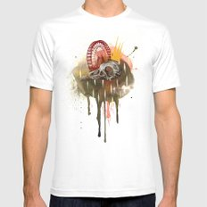 Of Madness White Mens Fitted Tee MEDIUM