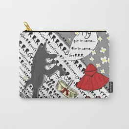 Little Red Riding Hood by Piarei Carry-All Pouch