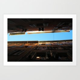 Look at the sky Art Print