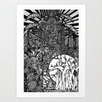Faerie King Art Print