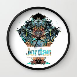 Jordan Awesome Country gift Wall Clock