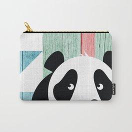Hidden Panda Carry-All Pouch