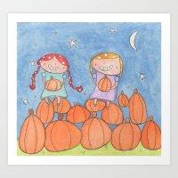 November - Year of Sisters - Watercolor Art Print