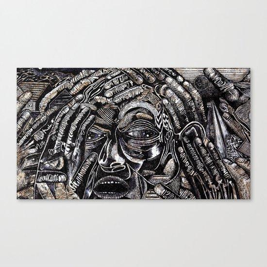 Mind Frame (Still Frame 2) Canvas Print