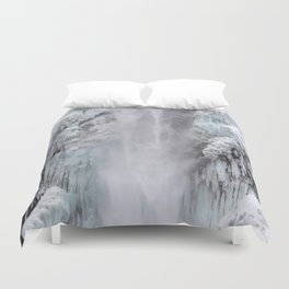 Cloaked in Ice Duvet Cover
