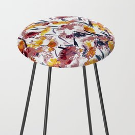 new floral Counter Stool